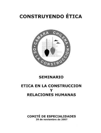 Construyendo ética
